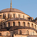 Blue Mosque Domes 09 by Rick Piper Photography