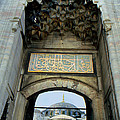 Blue Mosque Gate by Eva Kato