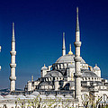 Blue Mosque In Istanbul by For Ninety One Days