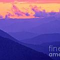 Blue Mountain Afterglow by Alex Cassels