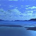 Blue Mountains Blue Lake by Judi Suni Hall