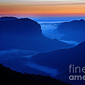 Blue Mountains Dawn by Colin Woods