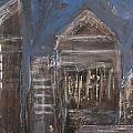 Blue Night Close Up 6 by Anita Burgermeister