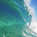 Blue Ocean Wave, View From In The Water by Design Pics Vibe