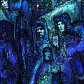 Blue O'clock Cloisters by Jane Schnetlage