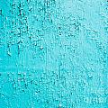 Blue Paint Background Grungy Cracked And Chipping by Stephan Pietzko