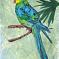 Blue Parakeet by Gail Daley