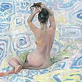 Blue Pattern by Denis Chernov