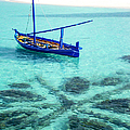Blue Peace. Maldives by Jenny Rainbow