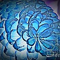 Blue Pine Cone 2 by Chalet Roome-Rigdon