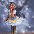 Blue Pixie by Elle Arden Walby