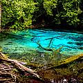 Blue Pool by Jijo George