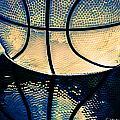 Blue Basketball by Margaux Dreamaginations