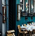 Blue Restaurant by Patrycja Polechonska