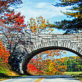 Blue Ridge Autumn Bridge by Lynn Bauer
