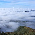 Blue Ridge Fog by Mountains to the Sea Photo