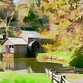 Blue Ridge Grist Mill by Alice Gipson
