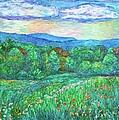 Blue Ridge Meadow by Kendall Kessler