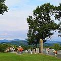 Blue Ridge Mountain Cemetery by Kathryn Meyer