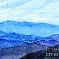 Blue Ridge Mountains by Hailey E Herrera