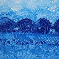 Blue Ridge Original Painting by Sol Luckman