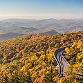 Blue Ridge Parkway In Peak Autumn Colors by Pierre Leclerc Photography