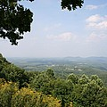 Blue Ridge Parkway Scenic View by Christiane Schulze Art And Photography