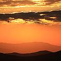 Blue Ridge Parkway Sunset-north Carolina by Mountains to the Sea Photo