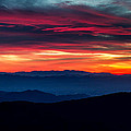 Blue Ridge Parkway Sunset by Pierre Leclerc Photography