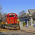 Blue Ridge Scenic Railway by Kenny Francis