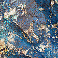 Blue Rock Abstract by Chris Scroggins