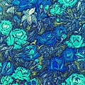 Blue Roses by Dimitra Papageorgiou