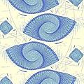 Blue Shells by Anastasiya Malakhova