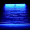 Blue Sidewalk by Tony Grider