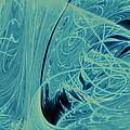 Blue Silk Thread No. 2 by Mark Eggleston