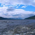 Blue Skies At Loch Ness by Joan-Violet Stretch