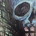 Blue Skull by Noah Babcock