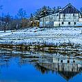Blue Sky Barn by Brian Stevens