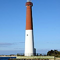 Blue Sky Blue Sea  And Barnegat Light by Christiane Schulze Art And Photography