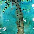 Blue Sky Palm by Norma Gafford