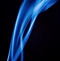 Blue Smoke  Abstract  by Michalakis Ppalis