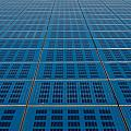 Blue Solar Panel Collector View by Brch Photography
