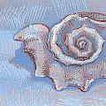 Blue Spiral by Richard Glen Smith