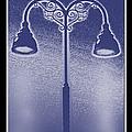 Blue Street Lights by Debbie Portwood