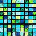 Blue Sudoku by Karen Adams