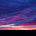 Blue Sunrise In West Texas by Mark McKinney
