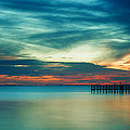 Blue Sunset by Christopher Blake