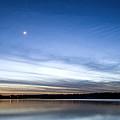 Grapevine Lake Blue Sunset by Rospotte Photography