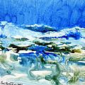 Blue Surf by Joan Hartenstein