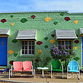 Blue Swallow Motel In Tucumcari In New Mexico by Catherine Sherman